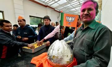 BJP secures landslide victory in UP, U'Khand, Congress sweeps Punjab; fractured mandate in Goa and Manipur