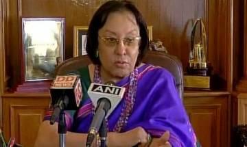 Manipur Governor Najma Heptulla asks Congress CM O Ibobi Singh to submit resignation