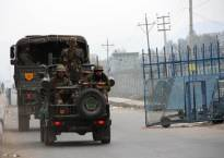 Massive search operation at Pathankot airbase station, high alert issued amid tight security