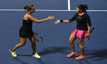 Indiana Wells Masters: Mirza-Strycova pair suffer straight sets defeat to Hingis-Chan in quarters