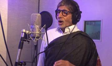 Bollywood actor Amitabh Bachchan teams up with musician Papon for new song