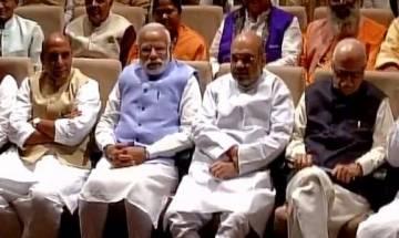 BJP parliamentary party meet: Top brass sets tone for 2019 Lok Sabha polls