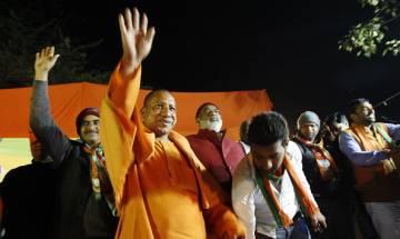 Uttar Pradesh turns saffron: Yogi Adityanath takes charge as chief minister