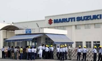 Maruti workers protest over court order on Manesar plant violence in 2012