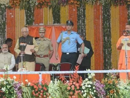 Meet Yogi Adityanath's UP Cabinet: Thakur leads Rajputs
