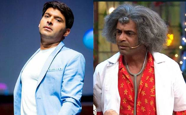 Image result for sunil grover and kapil fight in flight