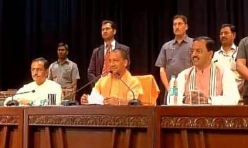 On Day 1 of Yogi Adityanath sarkar in UP, focus on law and order, budget, lawlesness: 10 key decisions
