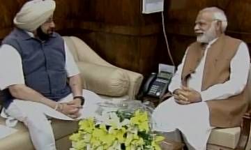 Punjab CM Amarinder Singh meets PM Modi, makes strong pitch for farmers loan waiver