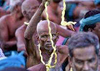 Farmers submit memorandum to CJI seeking relief for drought hit Tamil Nadu