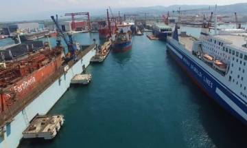 South Korea will inoculate USD 2.6 billion to prevent bankruptcy of world's second-largest shipbuilder