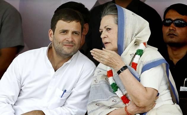 Congress President Sonia Gandhi and Vice President Rahul Gandhi (source: Getty)