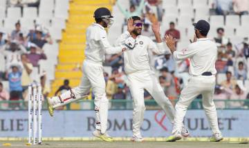 Highlights | India vs Australia, Dharamsala Test: Stumps at Day 1, Indian spinners bundle visitors for 300; Debutant Yadav takes 4