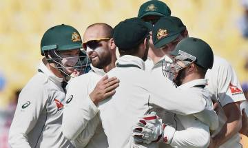 India vs Australia, Dharamsala Test: Lyon uproots Indian middle order; Hosts 52 run behind