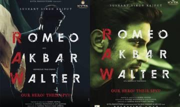 'Romeo Akbar Walter': Sushant Singh Rajput reveals his intriguing first look