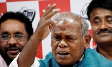 Jitan Ram Manjhi taken ill at public meeting