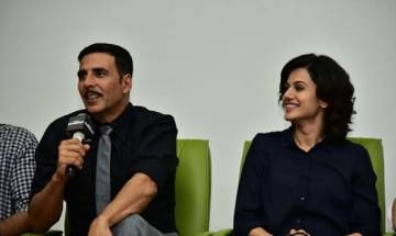 Taapsee finds it intimidating to do an action film with Akshay