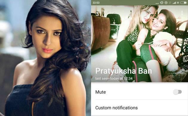 Pratyusha Banerjee's last Whatsapp status gave hint of her suicide