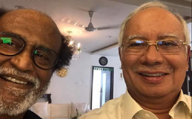 Rajnikanth meets Malaysian PM, rejects rumours of becoming brand ambassador of Malaysian tourism (Twitter)
