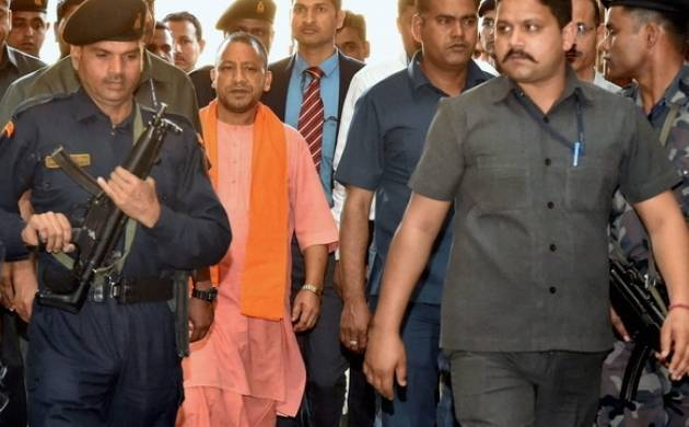UP CM Yogi Adityanath orders to make roads pot-hole free (File photo)