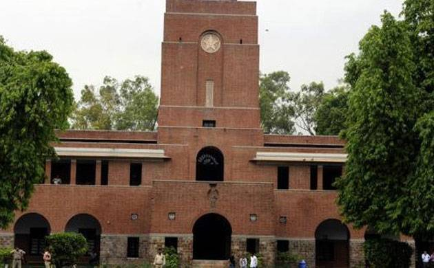 A file photo of the Ramjas College premises.