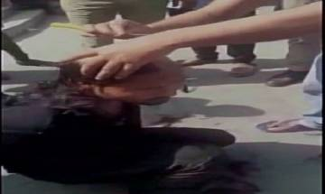 Video | Three UP cops suspended after locals shave off boy's head in their presence