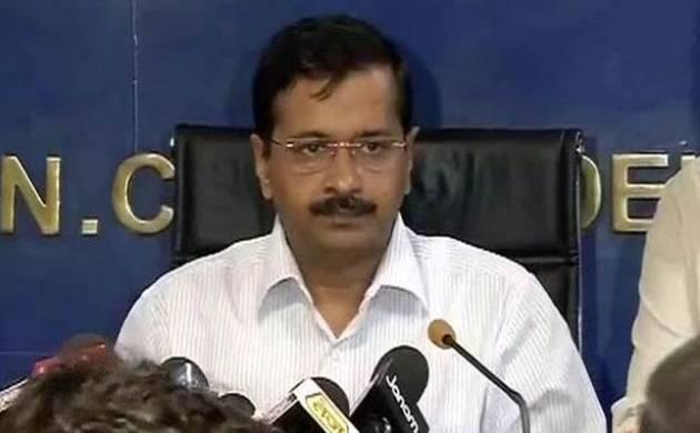 File photo of Delhi Chief Minister Arvind Kejriwal (PTI Photo)