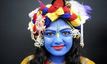 Muslim girl plays Lord Krishna at Ramakrishna Mission's programme
