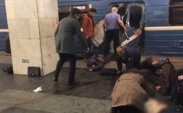 Attack at metro station in St Petersburg in Russia (Image: RT)