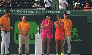 Miami Open: Sania Mirza-Barbora Strycova lose to unseeded newcomers in title clash
