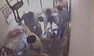 Watch Video | Gurugram: Brave women bank staffers foil robbery bid, angry locals later thrash armed men