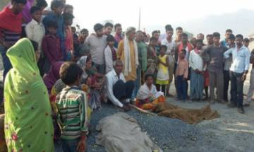 Jharkhand: 4 sleeping labourers children crushed to death by truck in Palamu