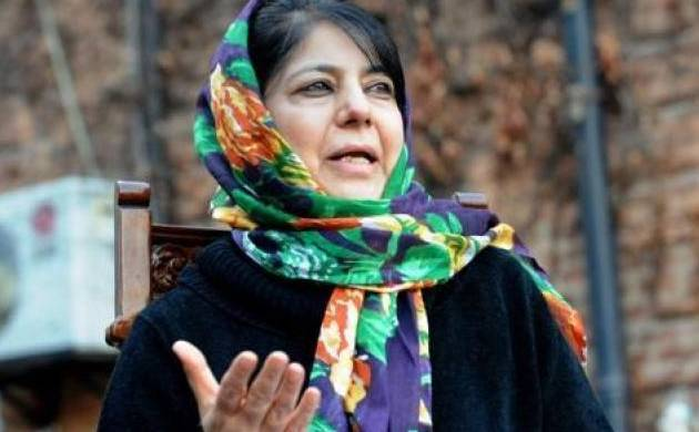 A file photo of Jammu and Kashmir chief minister Mehbooba Mufti.
