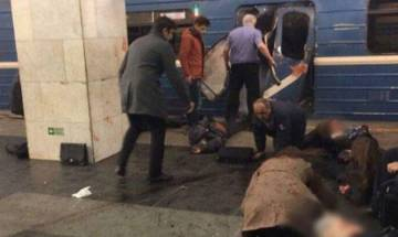 Russia suspects suicide bomber behind St Petersburg metro station explosion