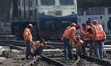 Kozhikode: Trains delayed after portion of ballast found on railway track