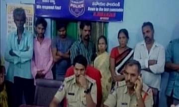 Couple burnt alive in Telangana accused of black magic dies