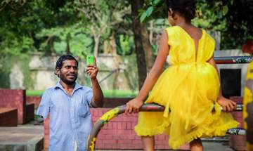 A dress worth more than Kohinoor diamond! Beggar saved for 2 years to buy daughter a beautiful frock