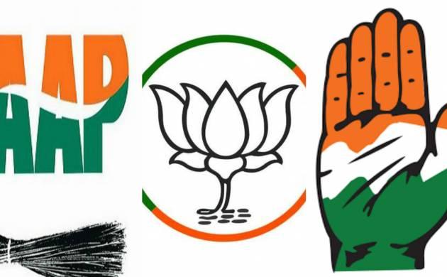 Rajouri Garden bypoll: Authentic voting processes for AAP, BJP, Congress (Source: PTI)