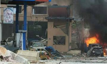 Five killed as suicide bomber blows himself at military academy in Somalia