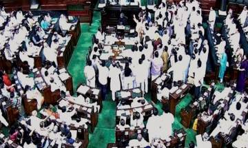 Parliament session: Lok Sabha disrupted over protests against BJP leader Tarun Vijay's remarks