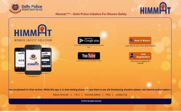 Delhi Police relaunches 'Himmat' app, aims to reach out to women