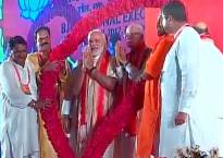 BJP National Executive Meet in Bhubaneshwar: PM holds roadshow in Odisha, mingles with crowds breaking security protocol