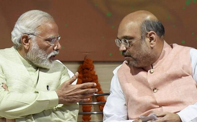 Amit Shah and Narendra Modi (File photo)