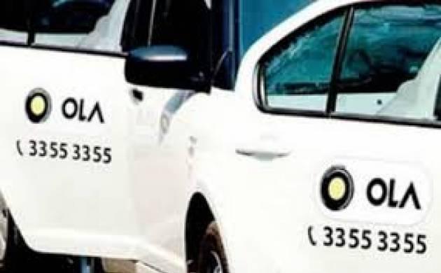 A file photo of Ola cabs