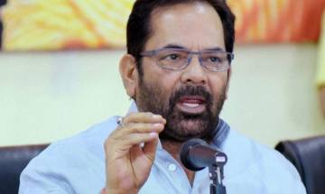 Issue of triple talaq not religious, related to social reforms, says Mukhtar Abbas Naqvi