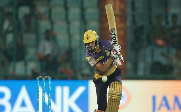 Manish Pandey during a match against DD