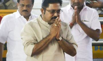 AIADMK symbol row: Dinakaran booked for allegedly trying to bribe Election Commission official, says will deal legally