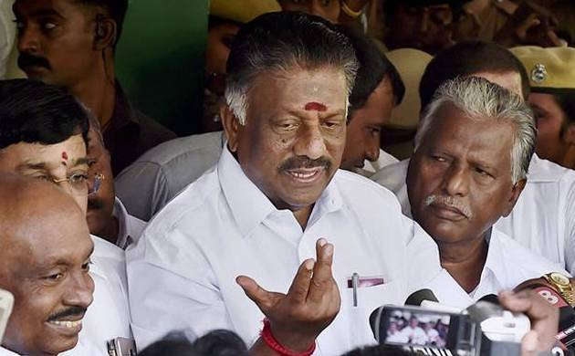 A file photo of O Panneerselvam (Source: PTI)