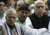 Babri case: Advani, Bharti, Joshi to stand trial; Lalu calls it 'well thought-out politics'; Uma says ready to sacrifice her life