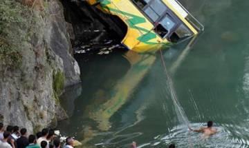 Himachal Pradesh: Bus falls into Tons river in Shimla, at least 45 dead