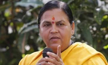 Uma Bharti dismisses the Congress demand for her resignation